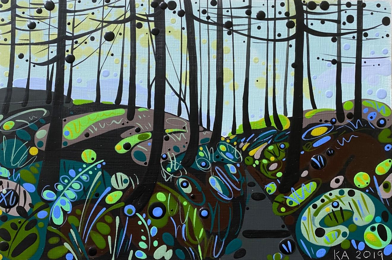 Katie Allen, Forest Walk III