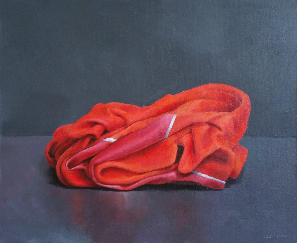 James Guy Eccleston, Red Jacket, Folded