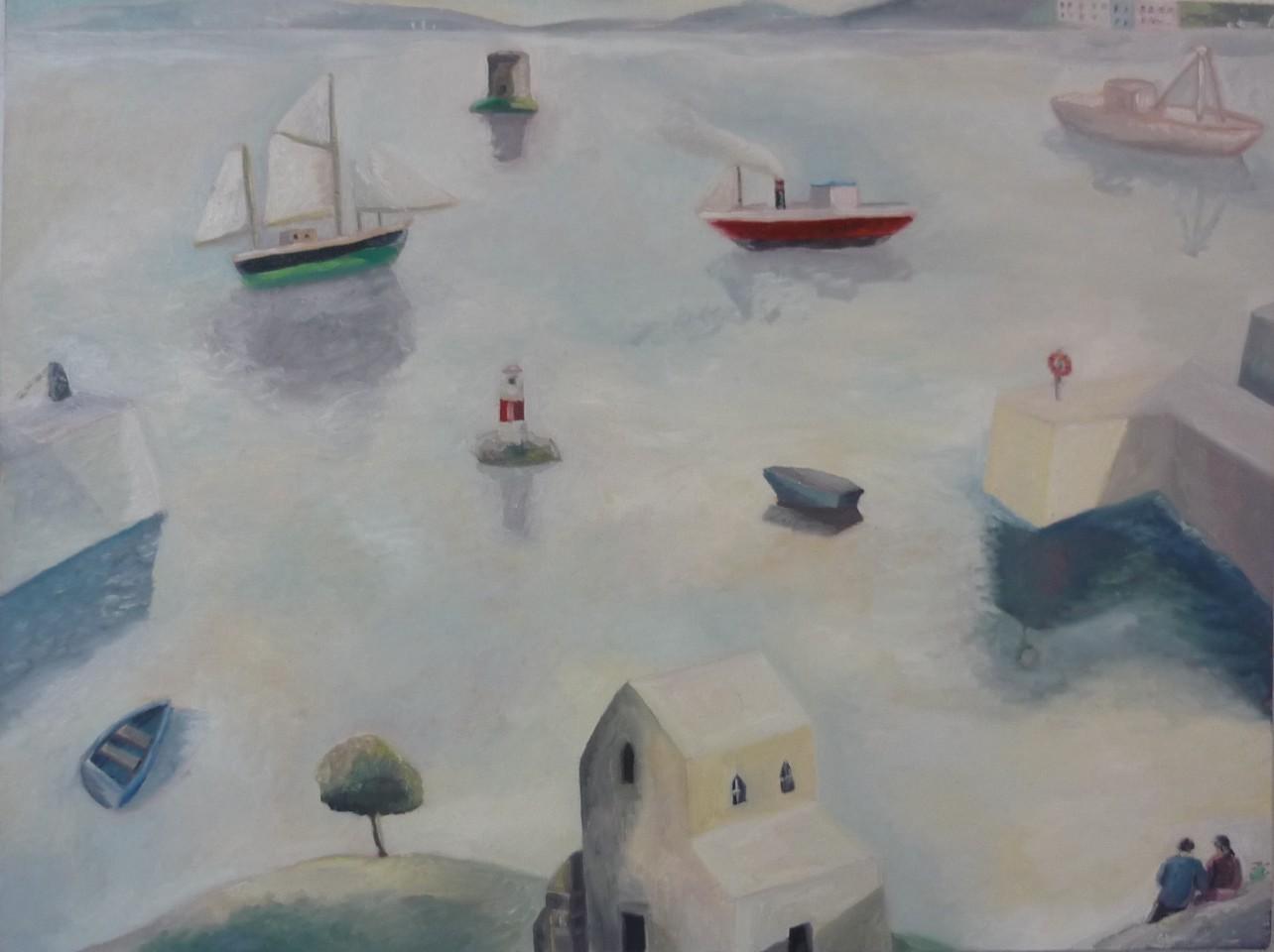 Emrys Williams, The Lovers, Dalkey Island