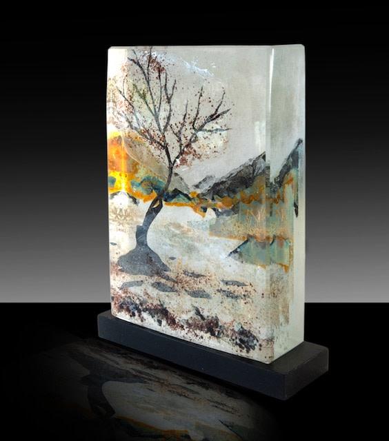 Kate Pasvol, The Lone Tree, Llyn Padarn