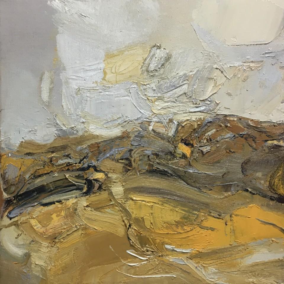 Beth Fletcher, Study (Golden, Encrusted)