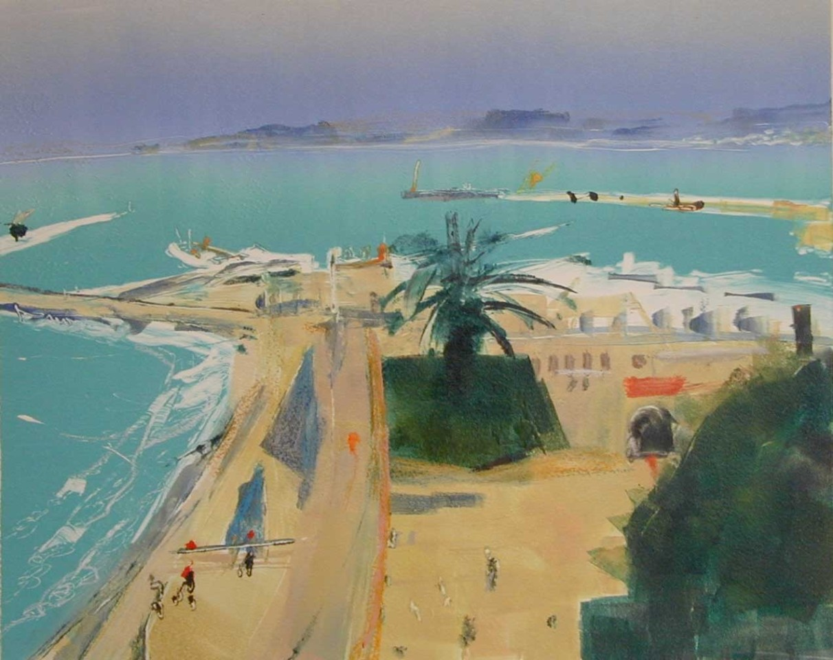 Anne Aspinall, The Port, Tangiers