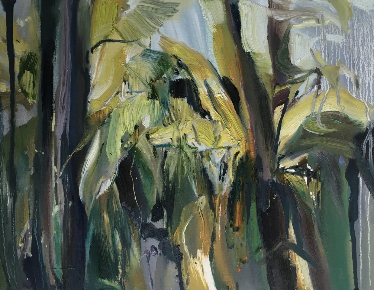 Beth Fletcher, Study for 'The Smell of Warm Rain'