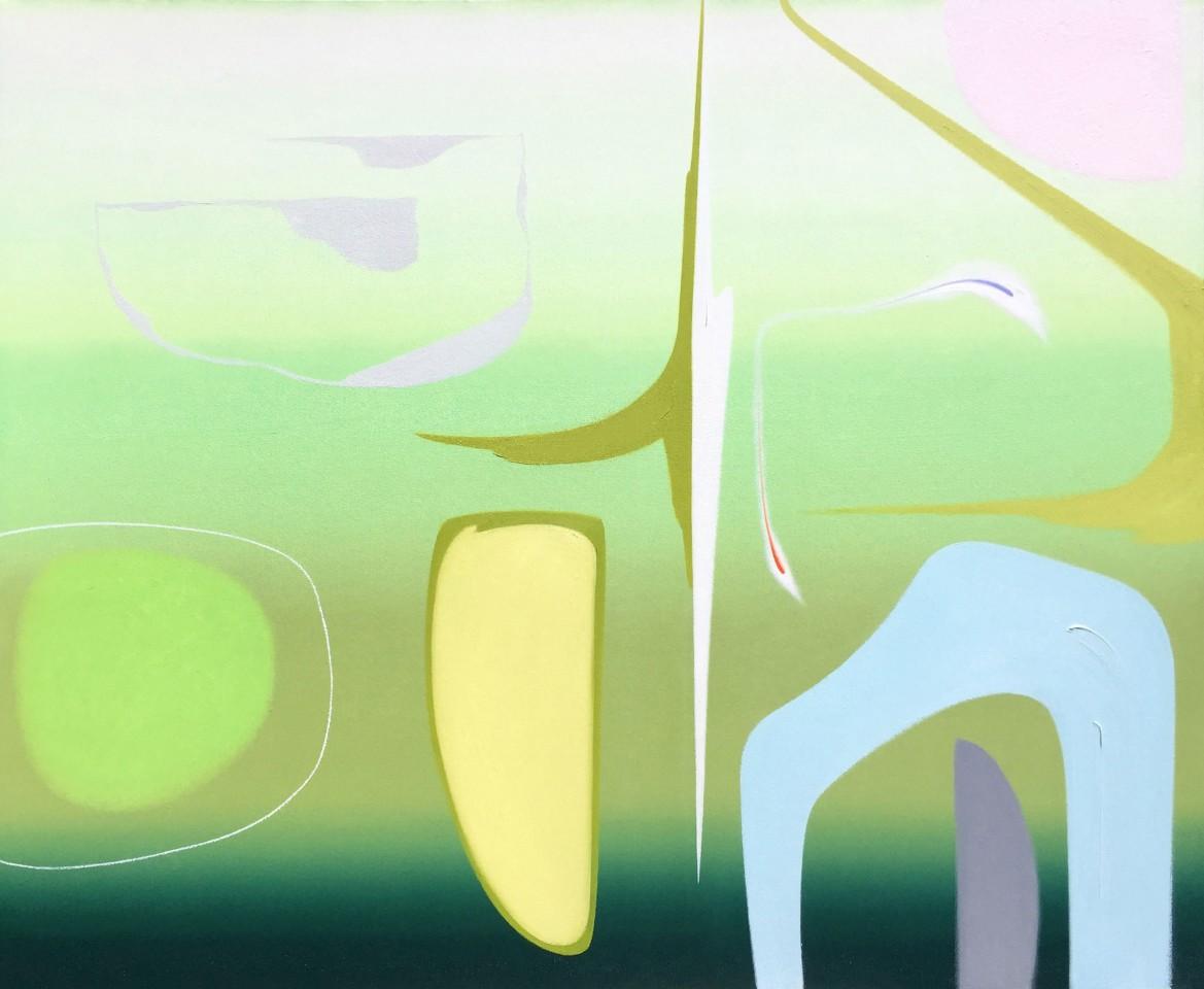 Martyn Jones, The Green Garden - Frostine