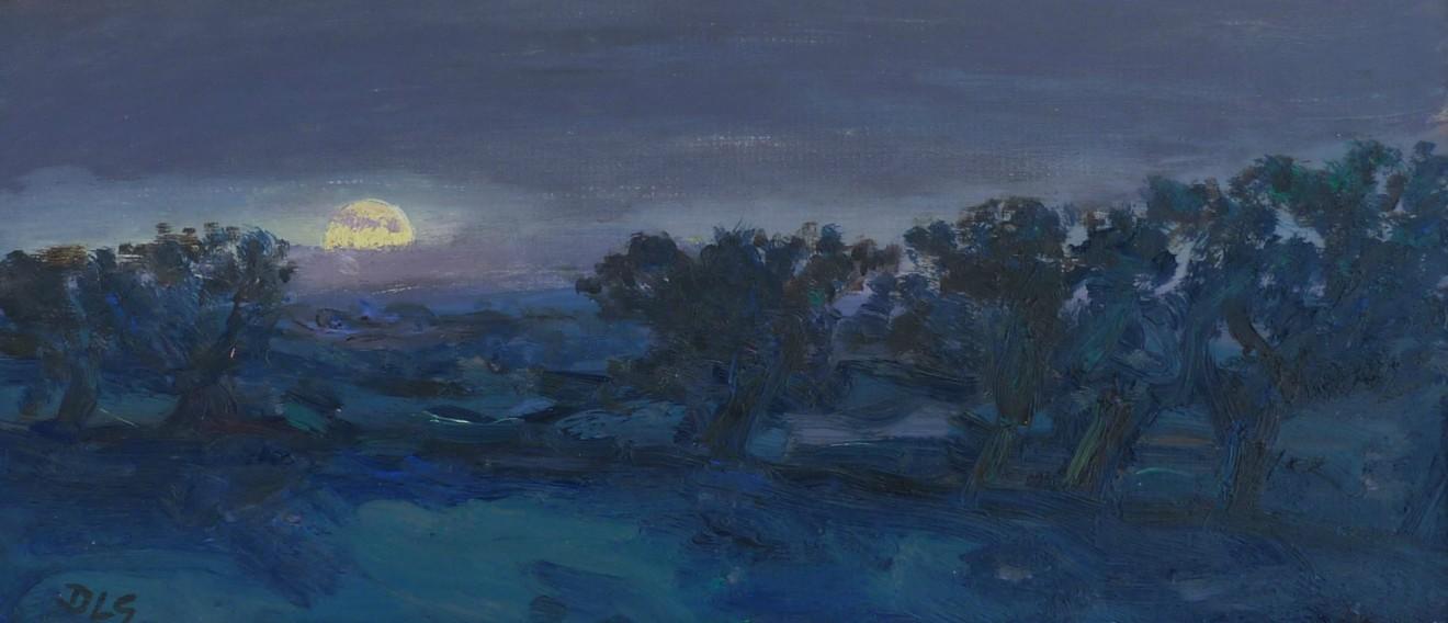 David Lloyd Griffith, 'Super' Moon - Betws yn Rhos