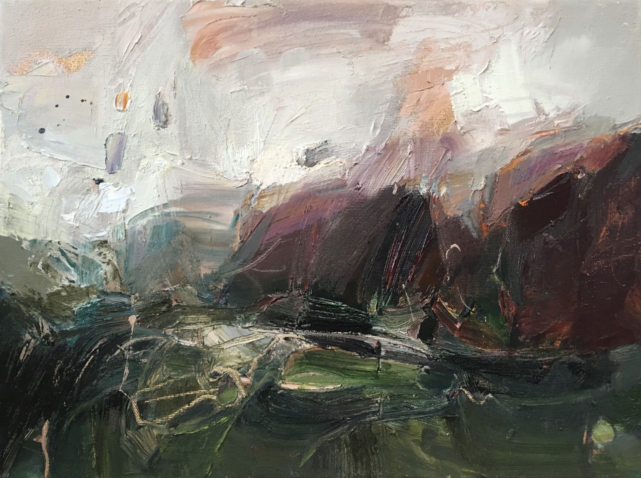 Beth Fletcher, At the Wind's Throat II