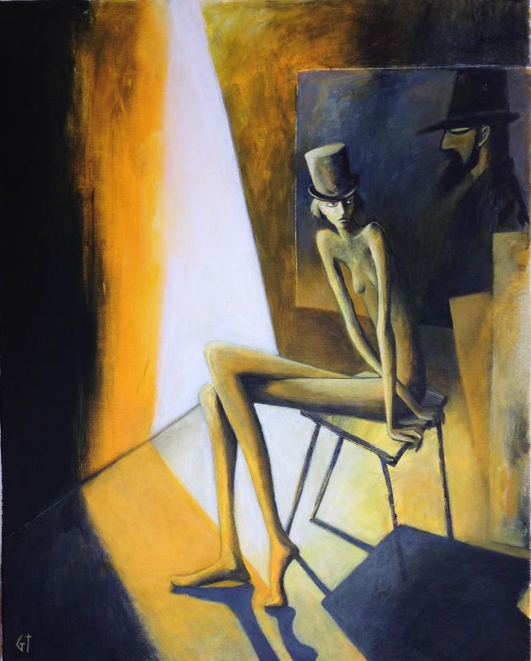 Gilly Thomas, Partially Illuminating Painting
