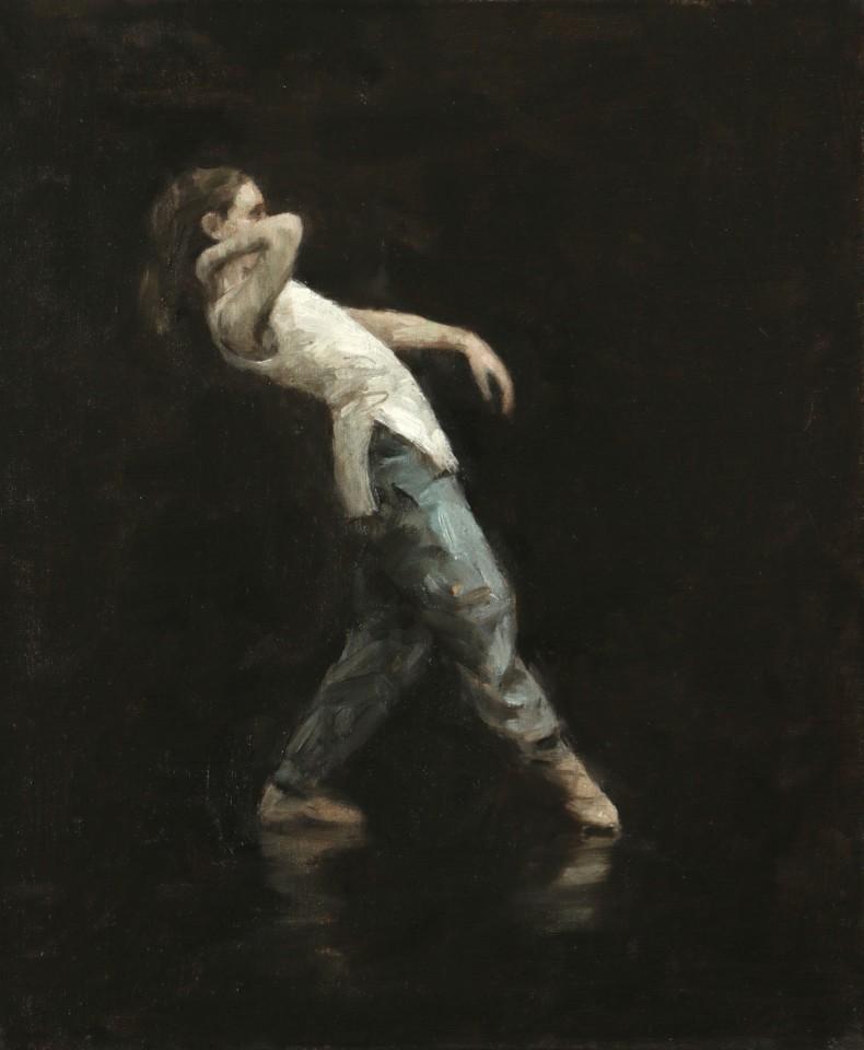 Carl Chapple, Beth Meadway (Ballet Cymru Rehearsal 108)