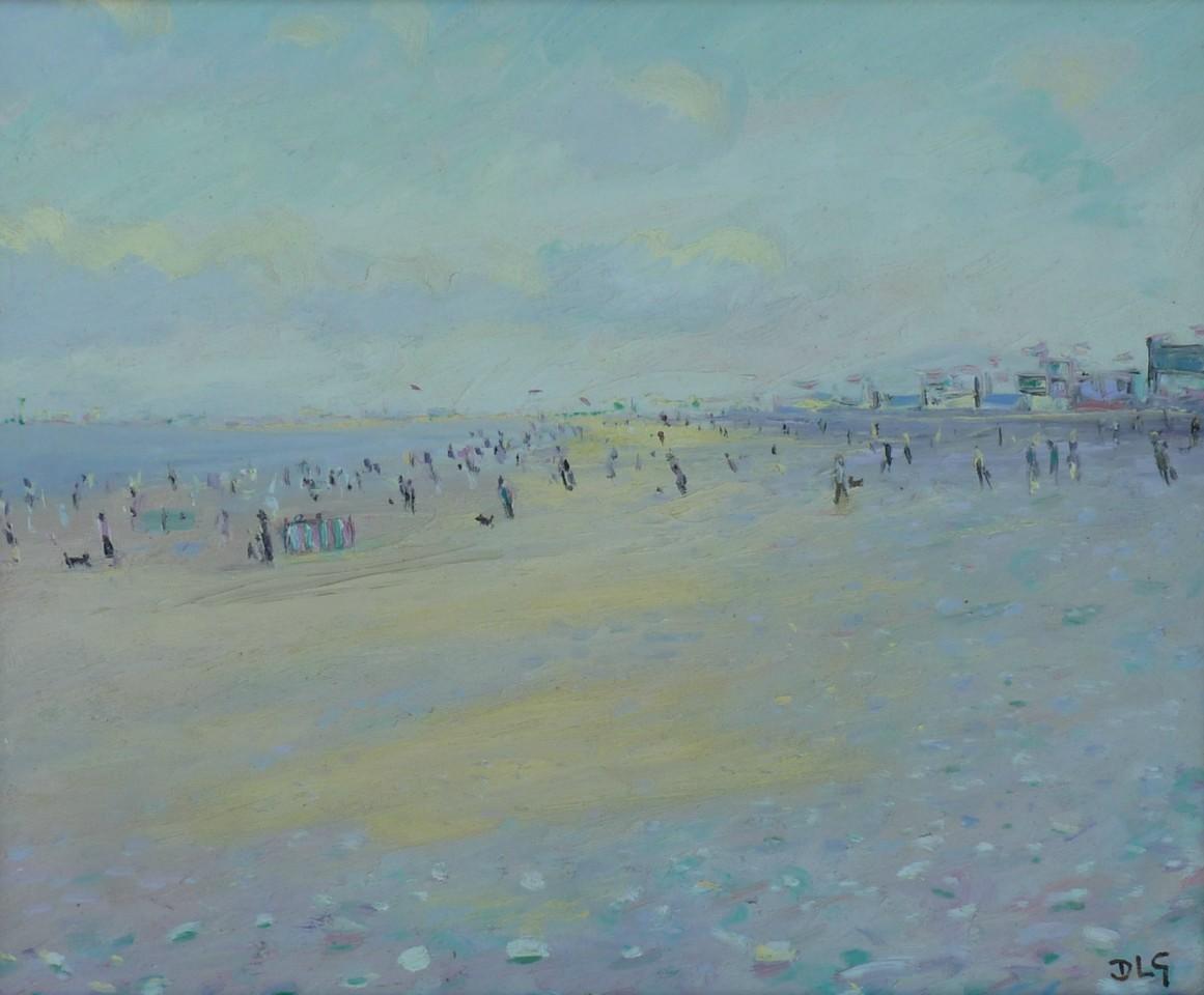 David Lloyd Griffith, August Bank Holiday - Pensarn Beach