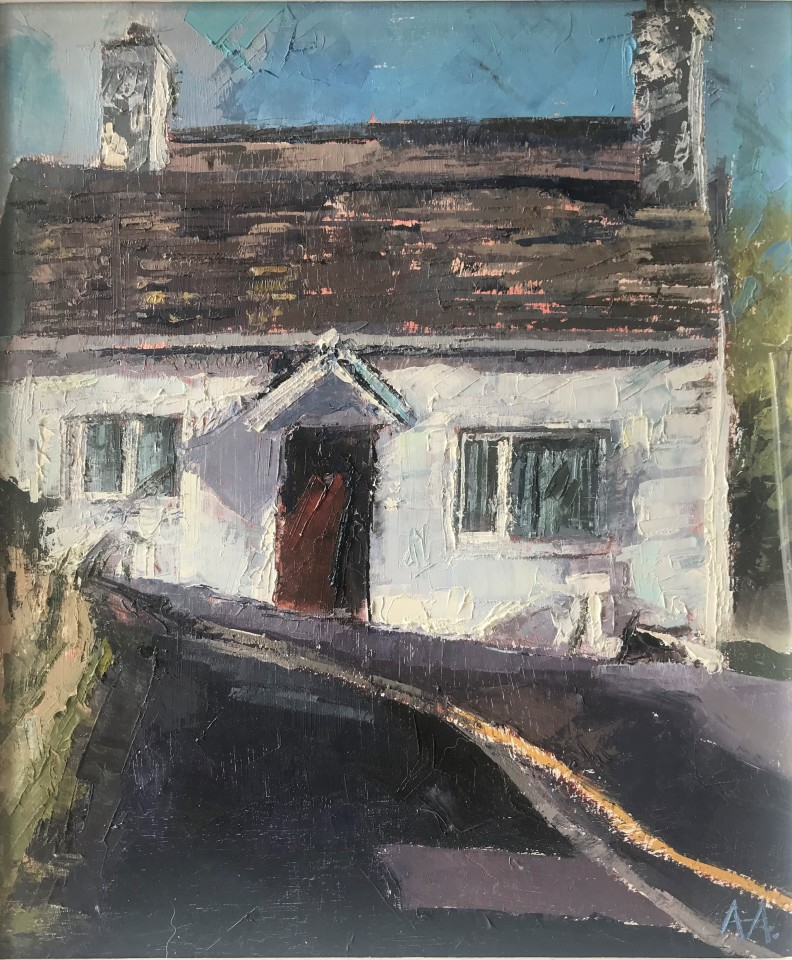 Anne Aspinall, The Little House on the Hill, Moelfre