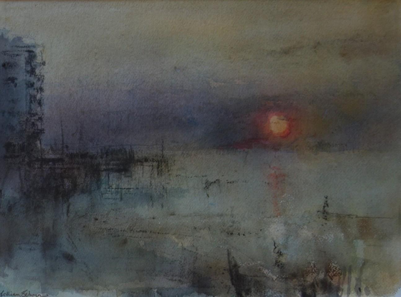 William Selwyn, Sunset, Victoria Dock