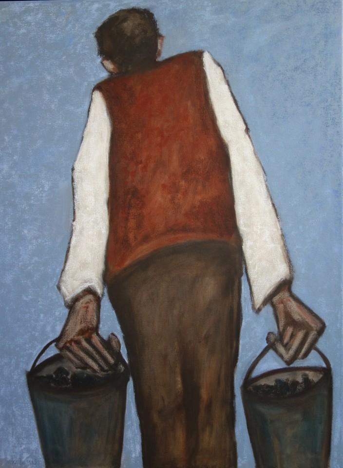 Mike Jones, Figure with Buckets