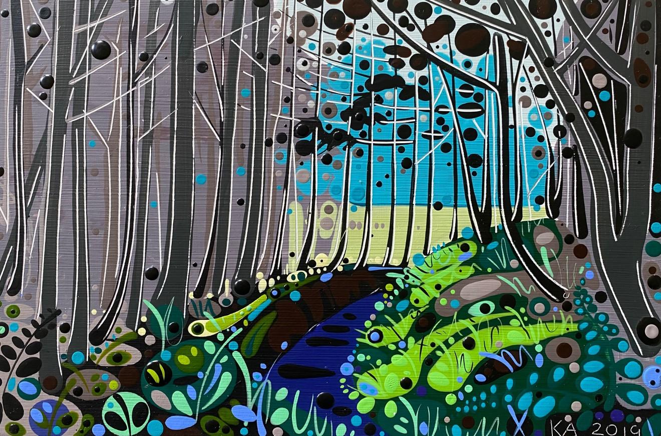 Katie Allen, Forest Walk II