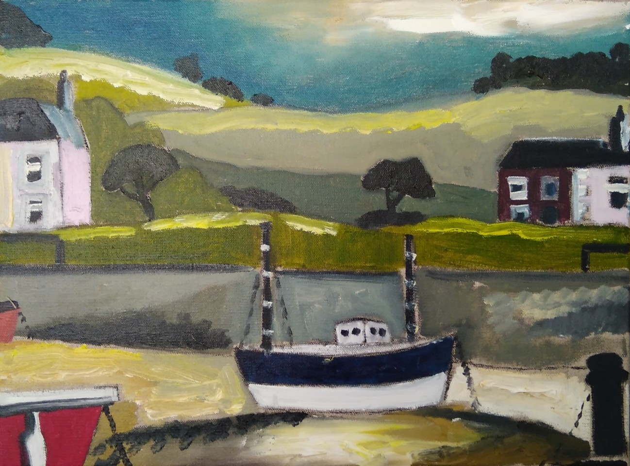Emrys Williams, Aberaeron Boat
