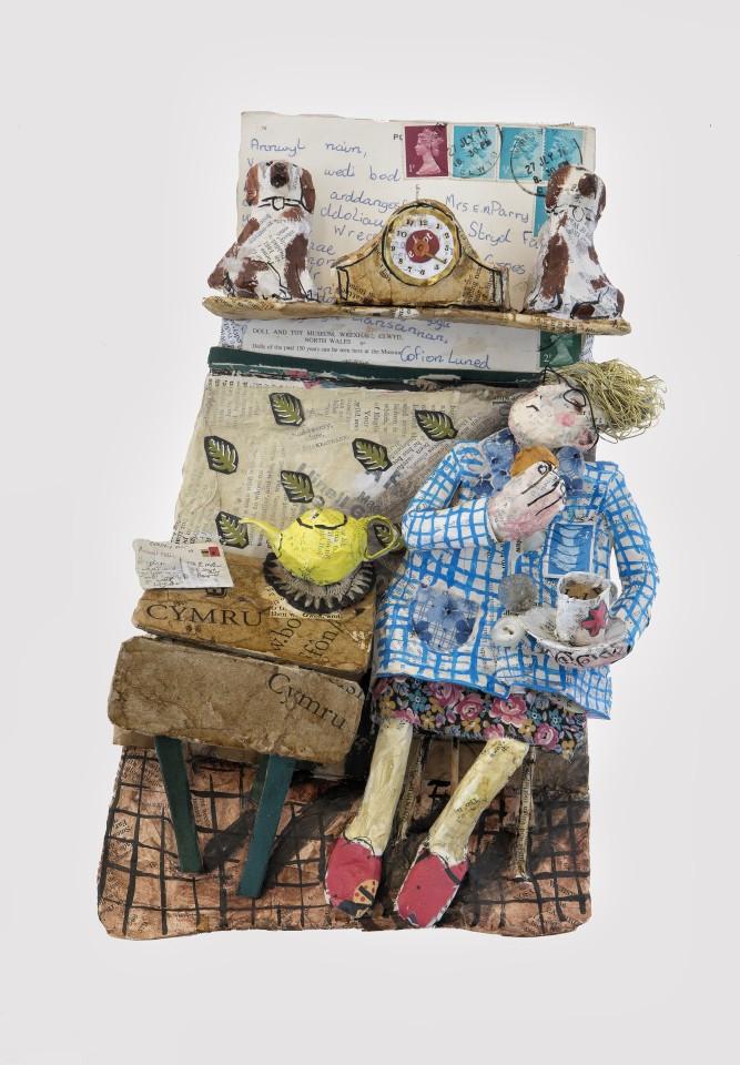 Luned Rhys Parri, Dau Gi Bach / Two Staffordshire Dogs