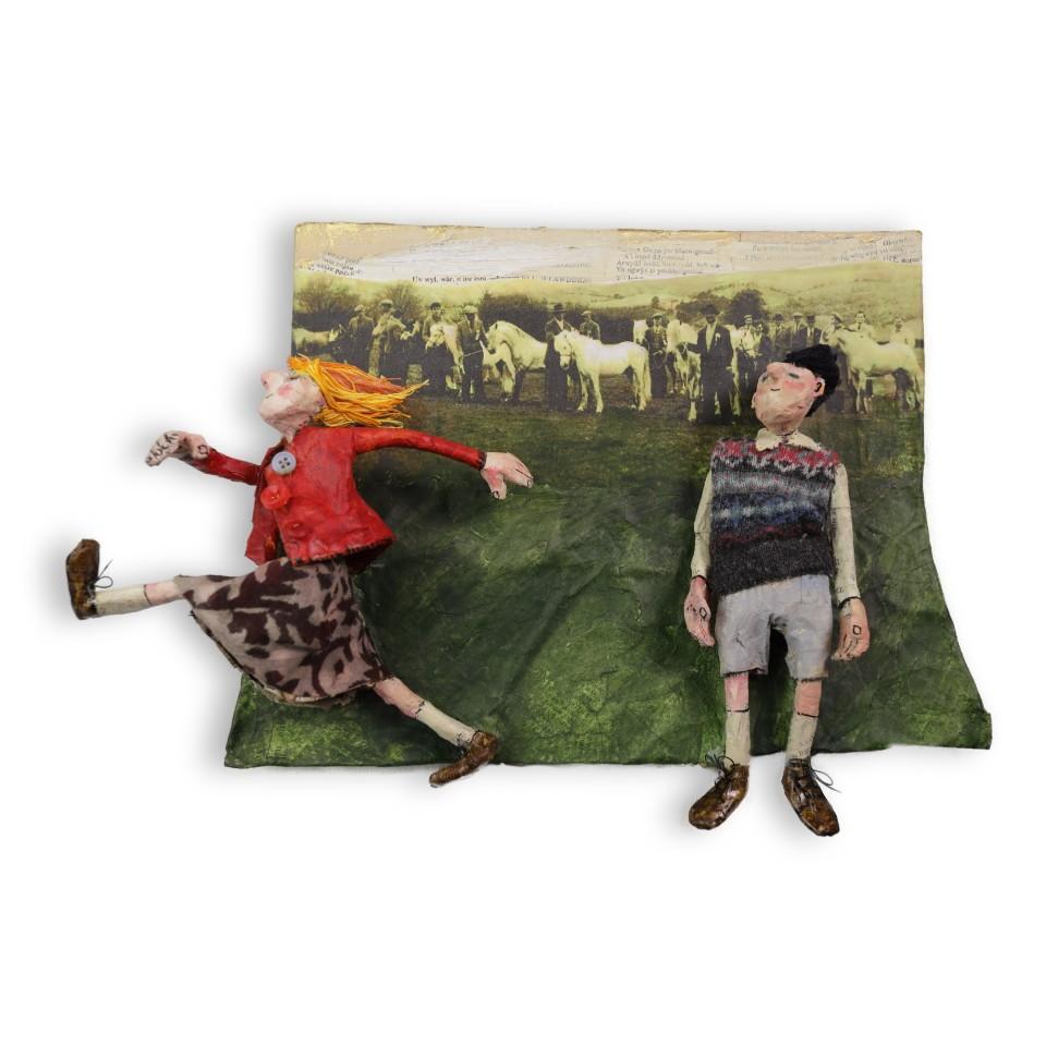 Luned Rhys Parri, Bachgen a Merch, Sioe Amaethyddol / Boy and Girl, Agricultural Show