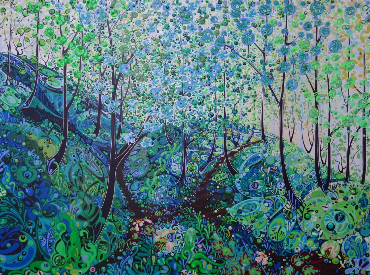 Katie Allen, Nicholaston Woods, Summer