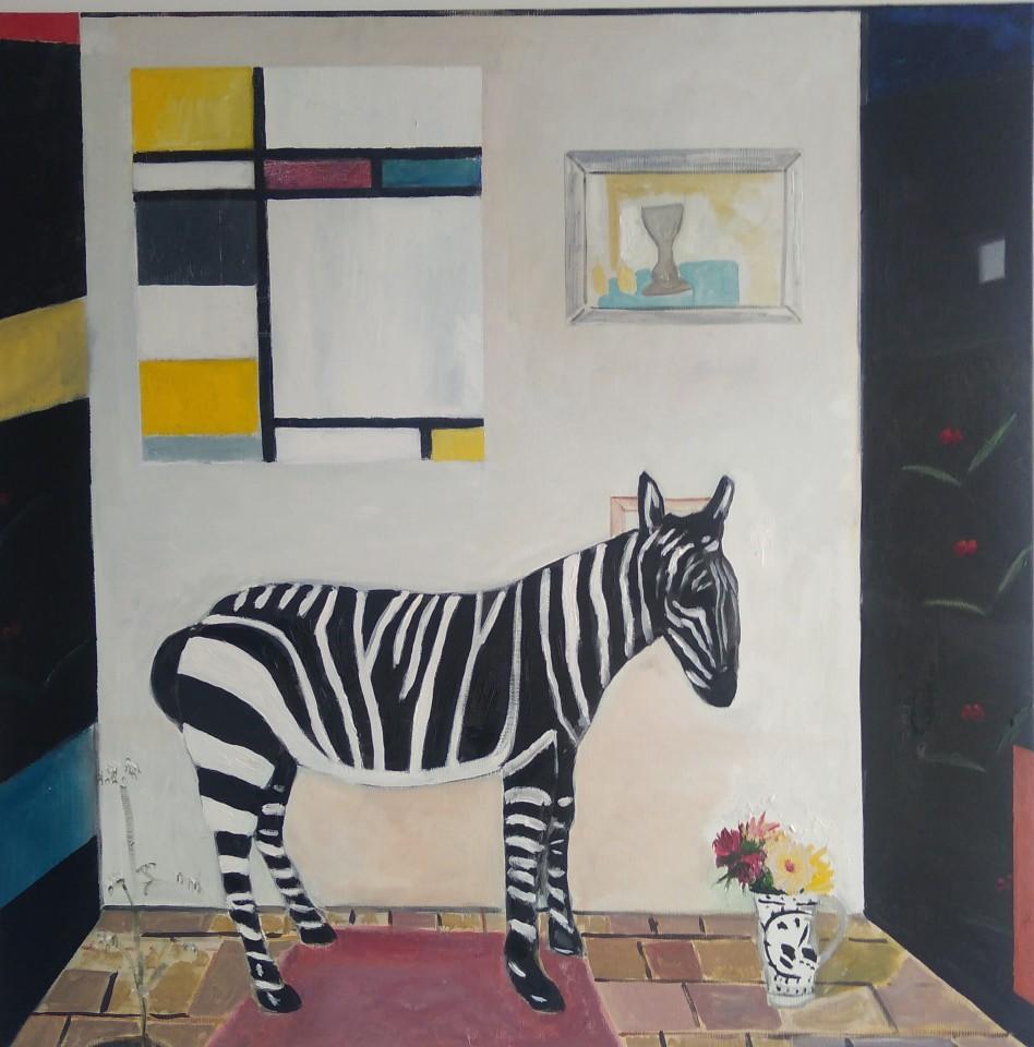 Emrys Williams, Zen Zebra, Kettles Yard