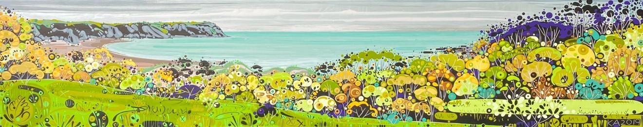 Katie Allen, Oxwich Bay, Autumn