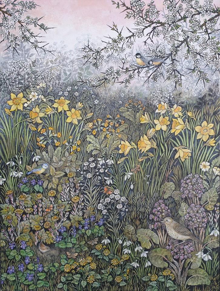 Barbara Winrow, Spring Daffodils
