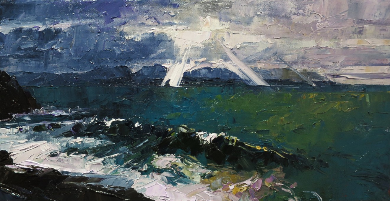 David Grosvenor, The Wave, Criccieth