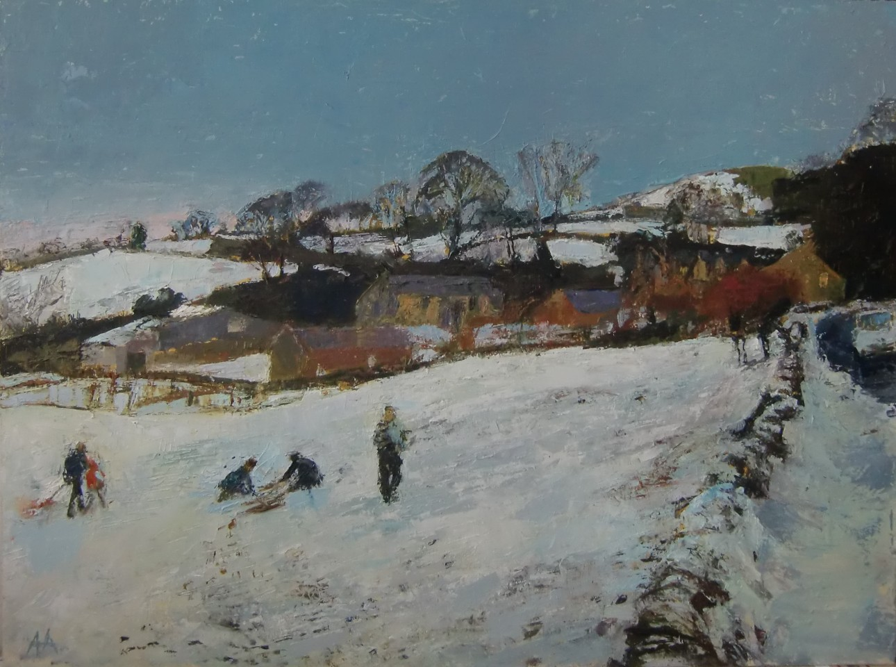 Anne Aspinall, Sledging