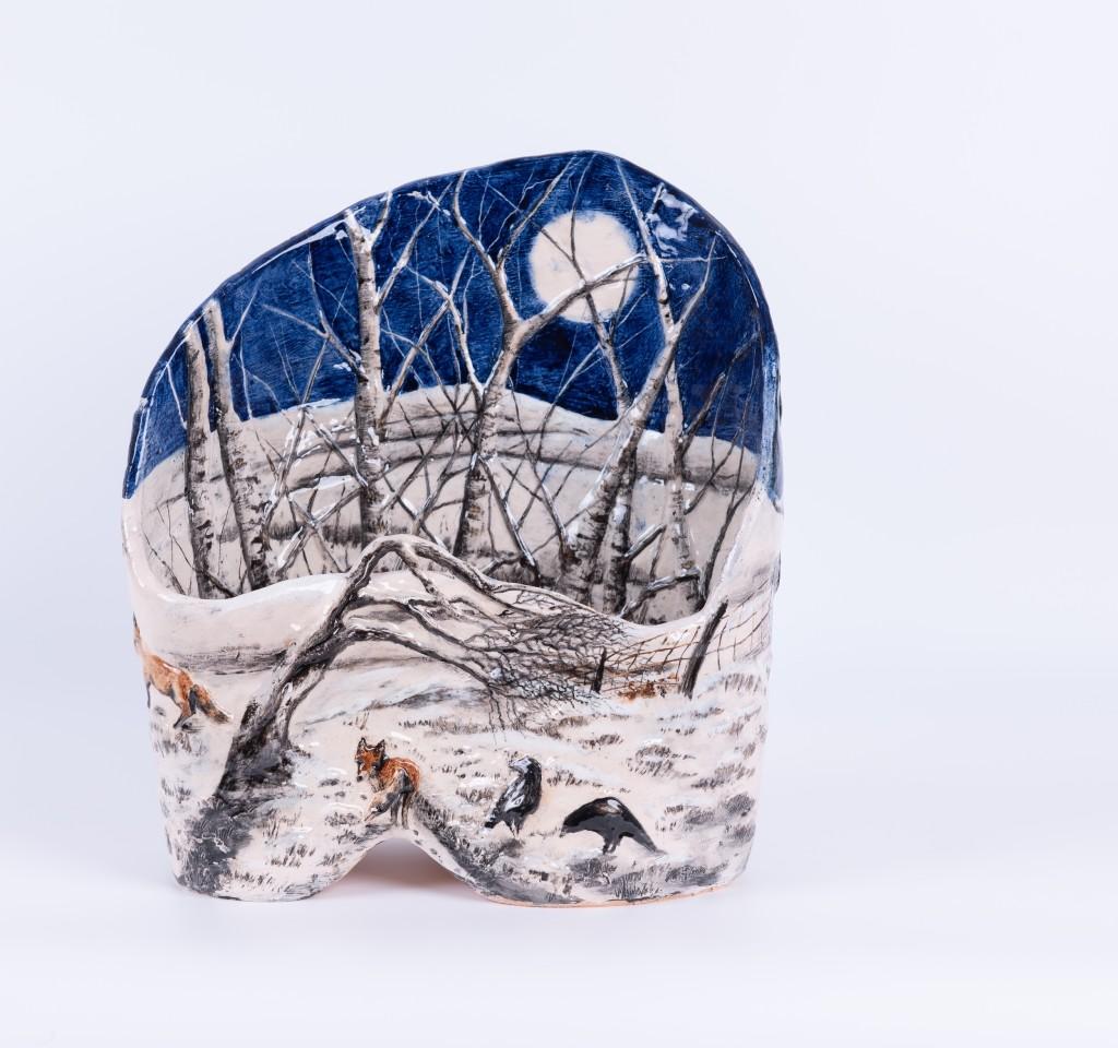Helen Gittins, Ionawr 'Snow on the fields, snow on the heather'