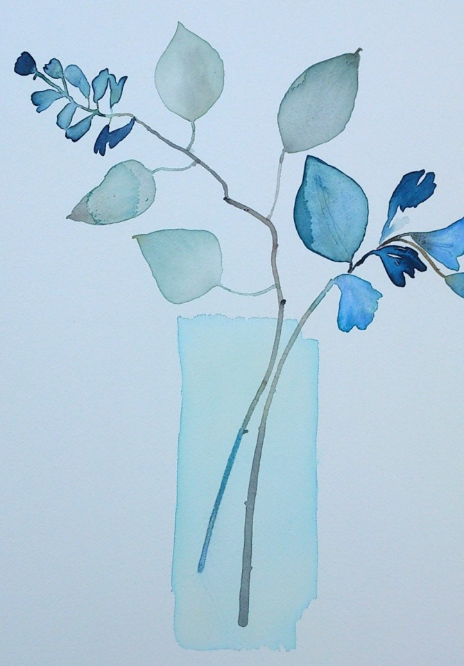 Susan Kane, Blue Freesias