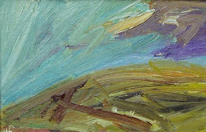 Peter Prendergast, Hill Shadows, c1990s