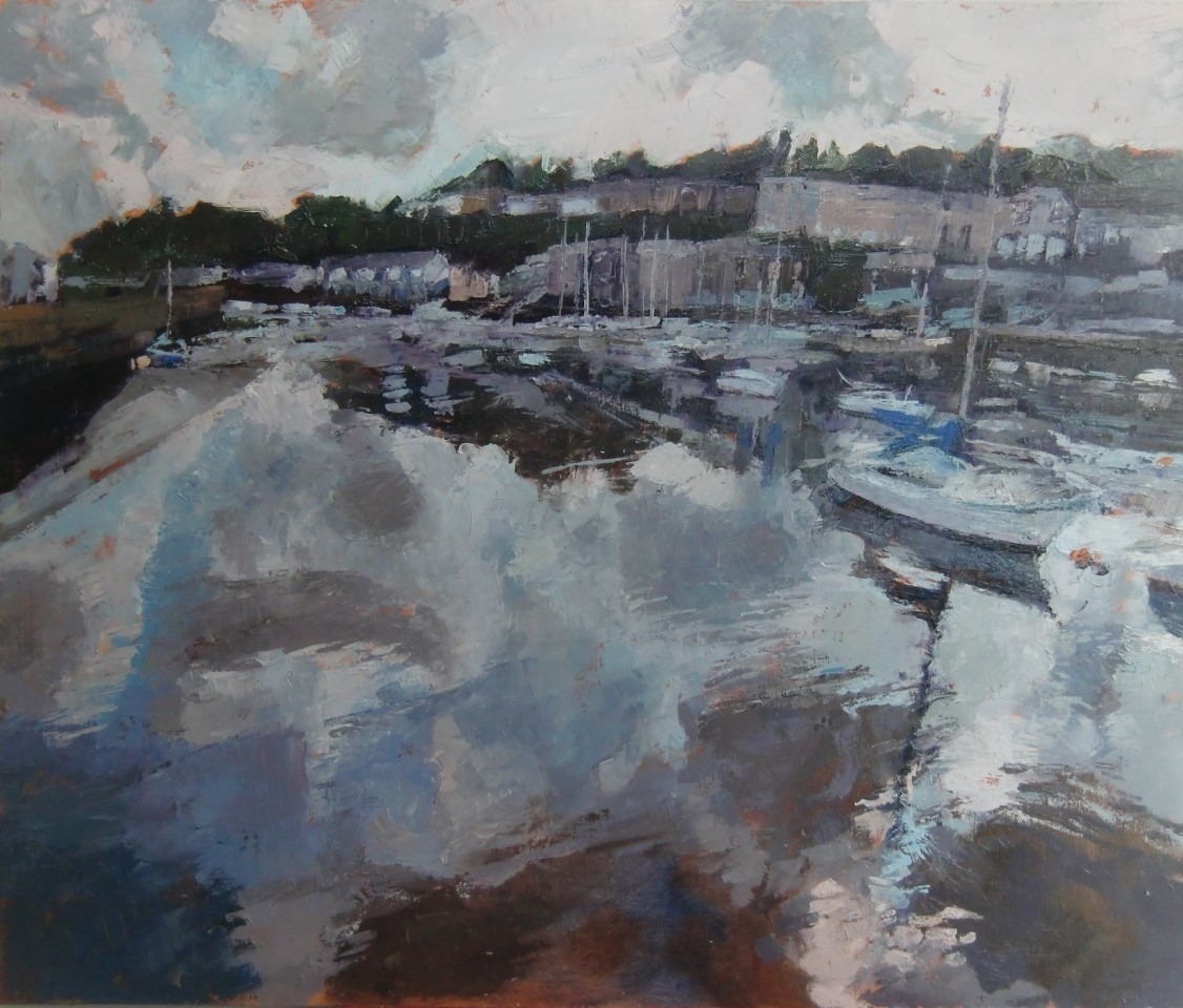 Anne Aspinall, Porthmadog, Rain Clouds