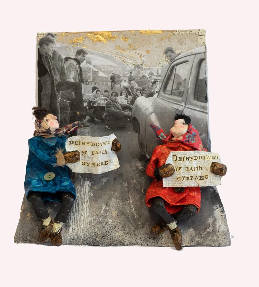 Luned Rhys Parri, Protest Pont Trefachan
