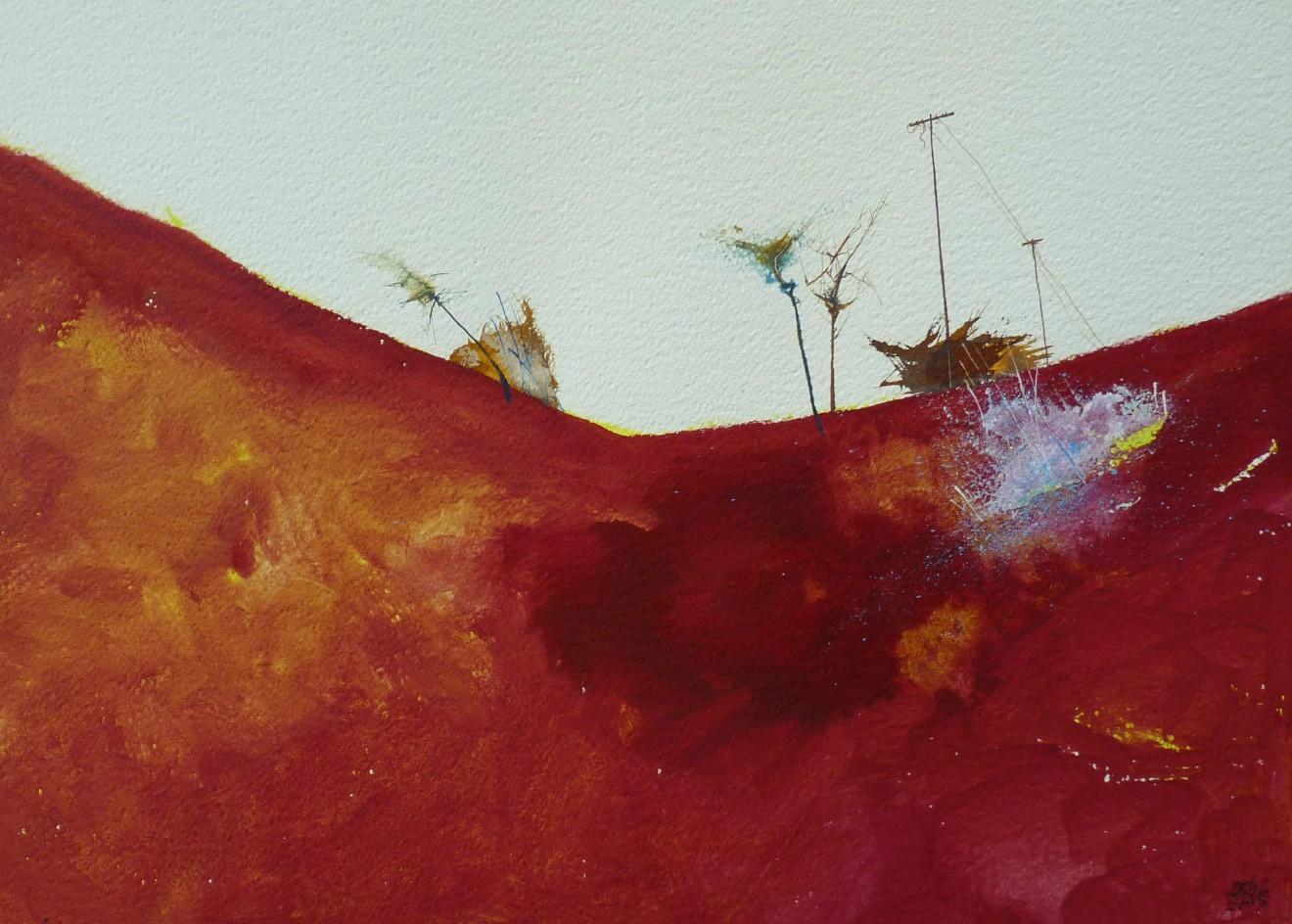 Dewi Tudur, Tip Coch, Toscana / Red Earth, Toscana