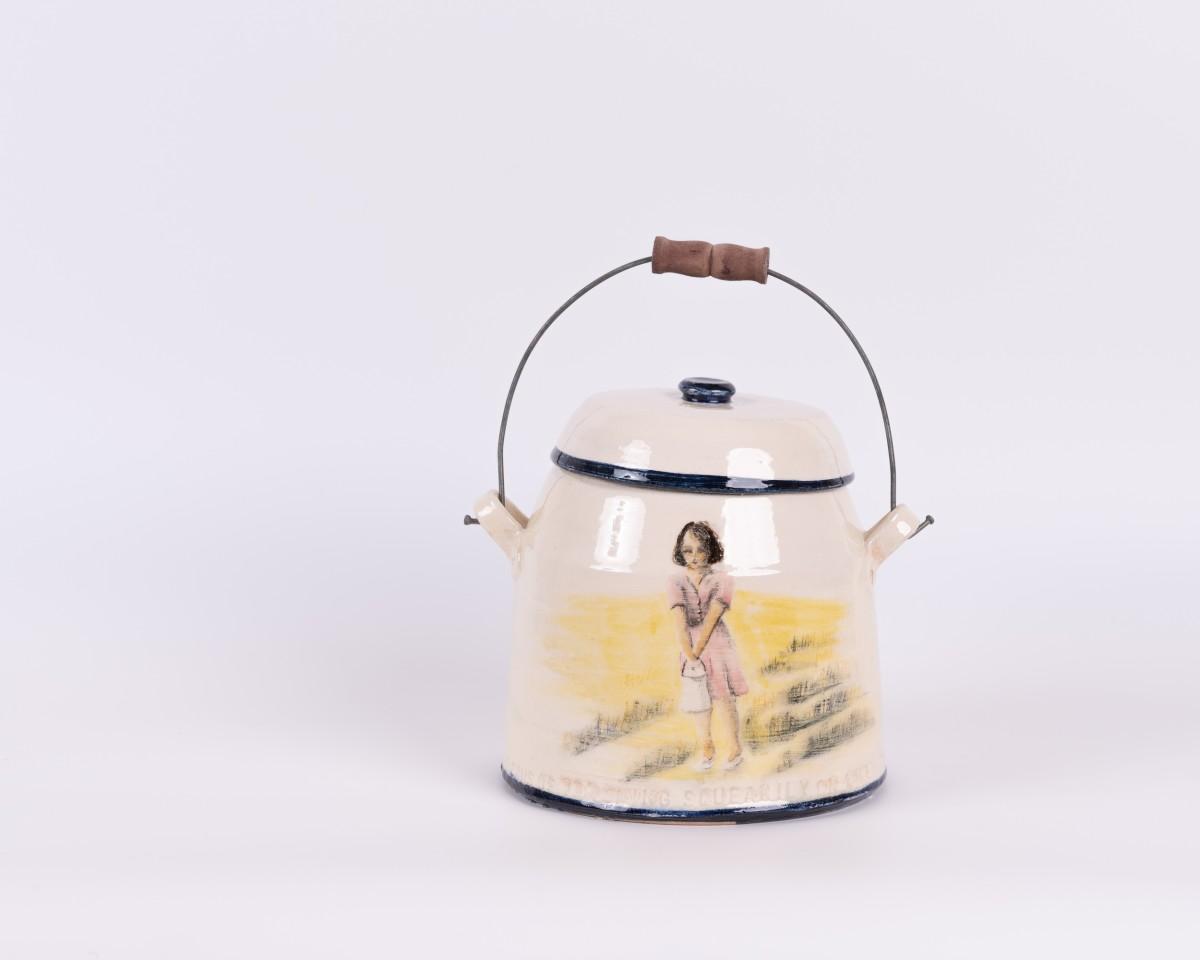 Helen Gittins, Gorffenaf I 'The cans of tea swing squeakily'