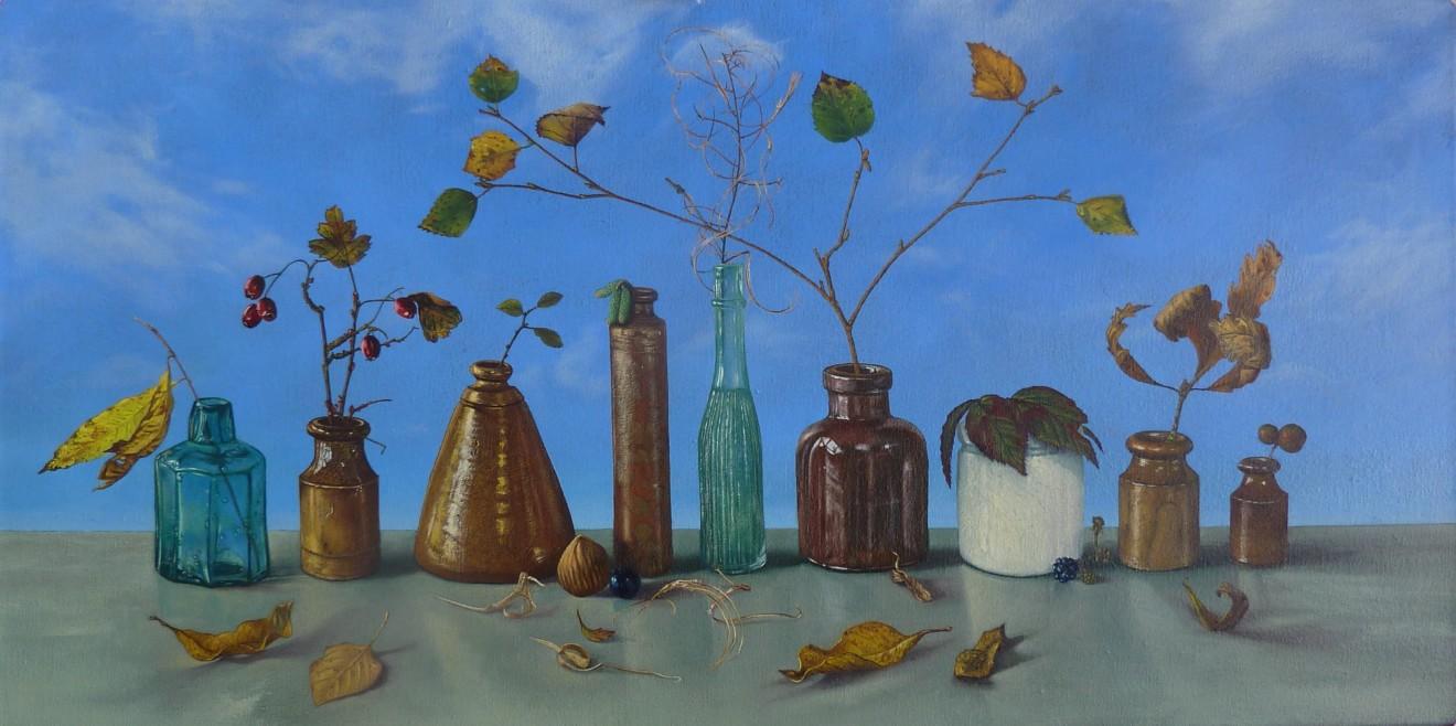 Kim Dewsbury, Late Autumn, Bogwood, Foel Goch