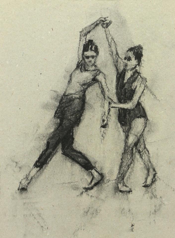 Carl Chapple, Ex Situ - Ann Louise Wall & Sophie Morris (Ballet Cymru Rehearsal 144)