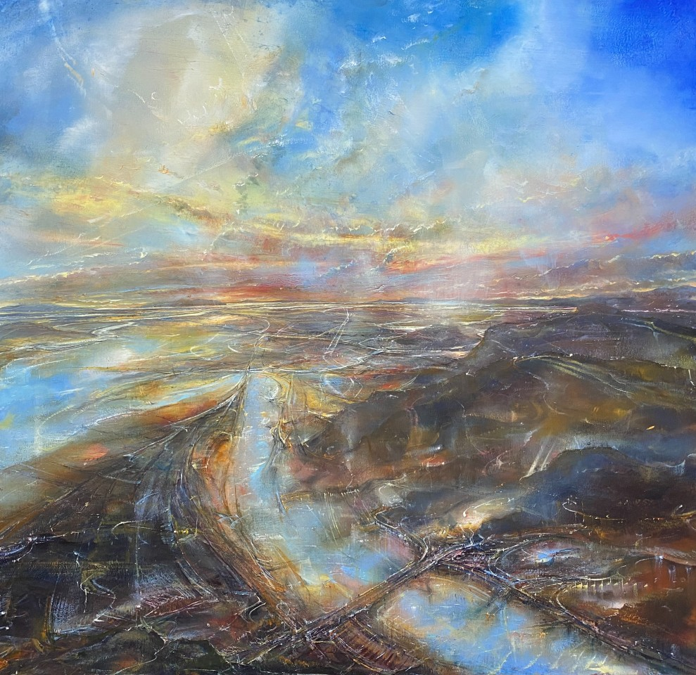 Iwan Gwyn Parry, Sunrise over the River Dee Estuary