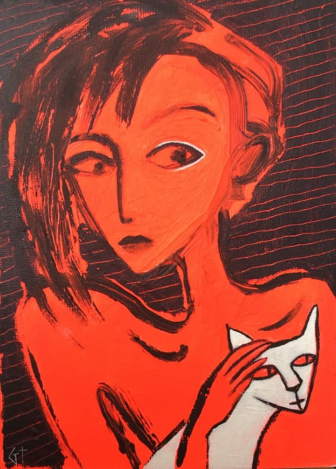 Gilly Thomas, White Cat