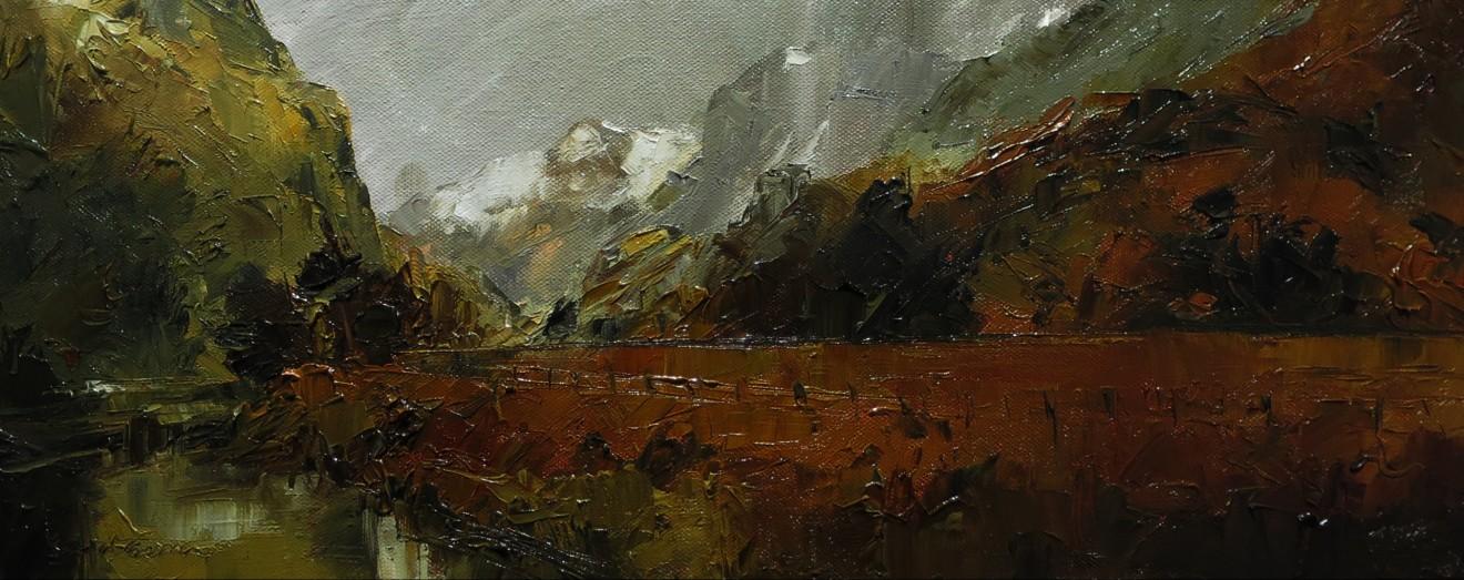David Grosvenor, Llanberis Pass I