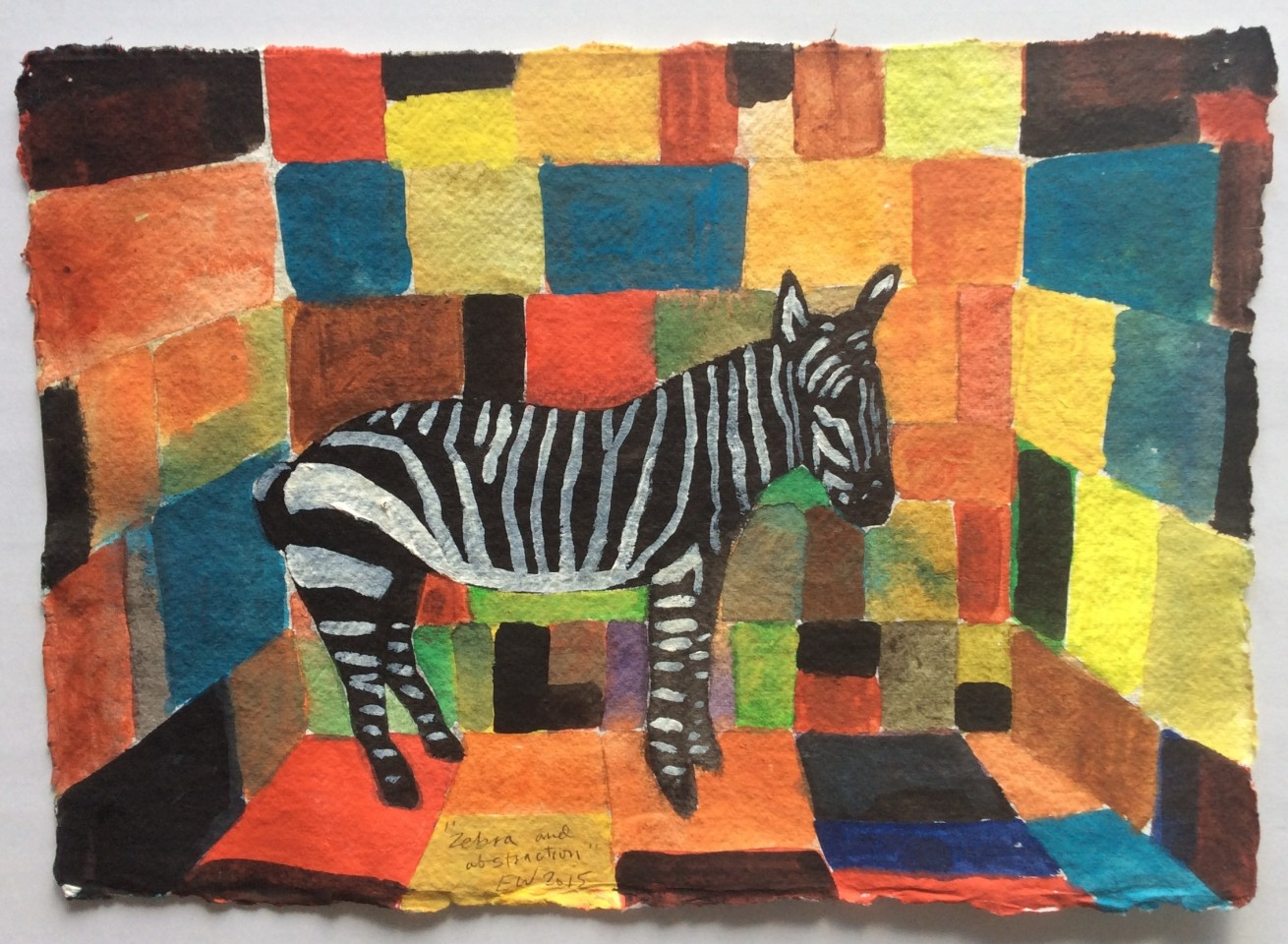 Emrys Williams, Zebra and Abstraction