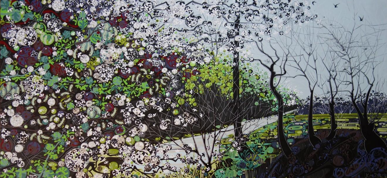 Katie Allen, Blackthorn, Old Marsh Road
