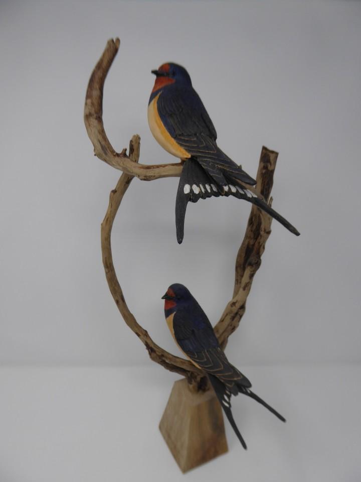 John & Marilyn Davies, Swallows