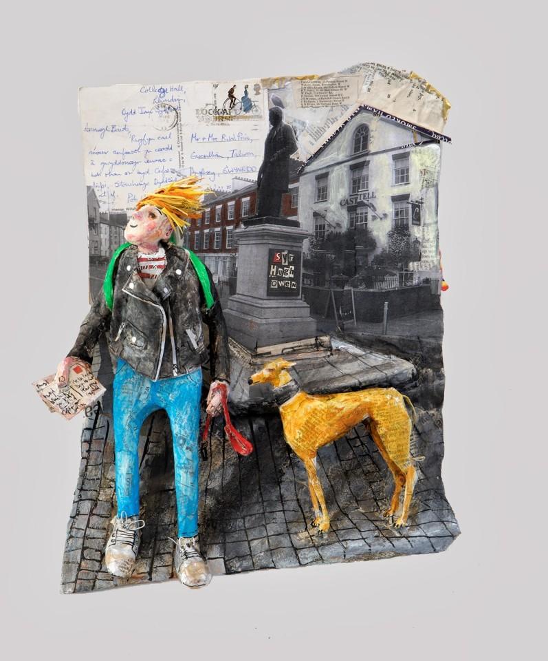 Luned Rhys Parri, Cofeb Syr Hugh Owen / Syr Hugh Owen Monument