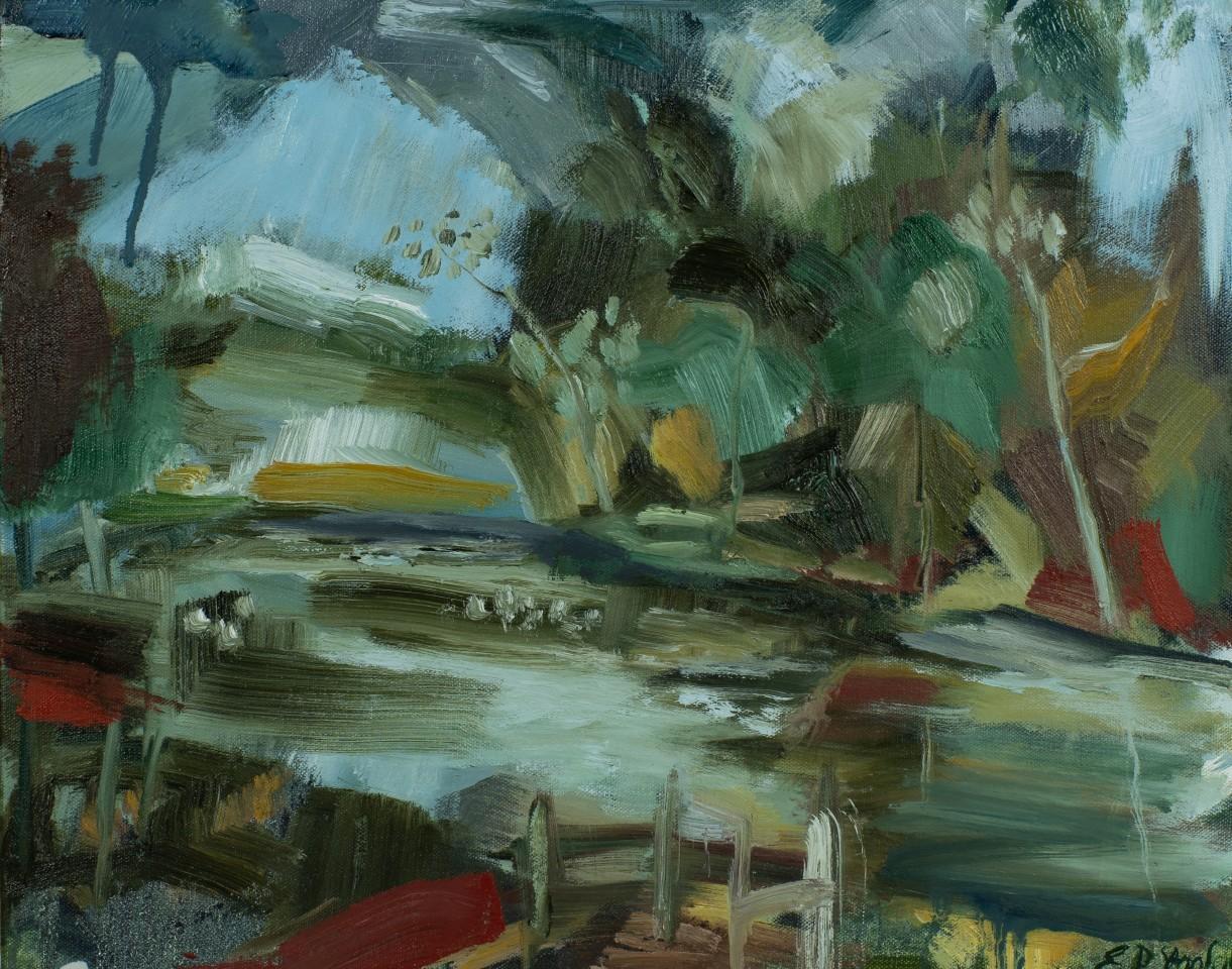 Elaine Preece Stanley, Ducks and Landscape