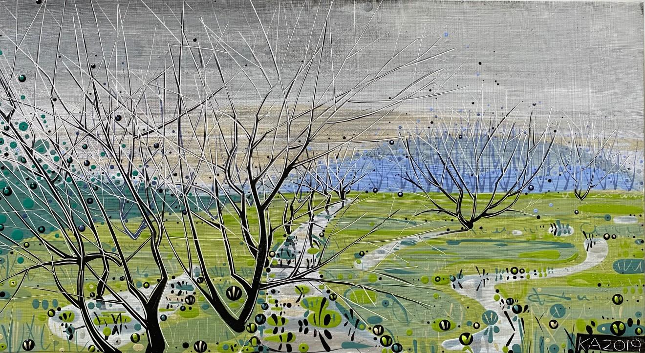 Katie Allen, Old Marsh Road - Study I