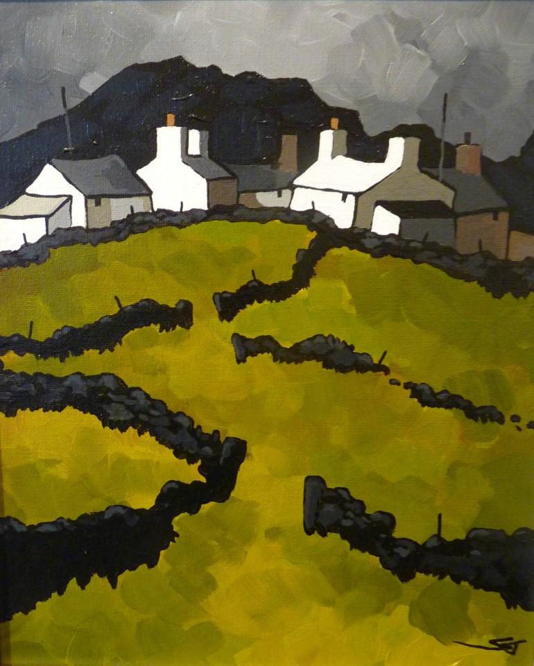 Stephen John Owen, Cottages, Rhosgadfan