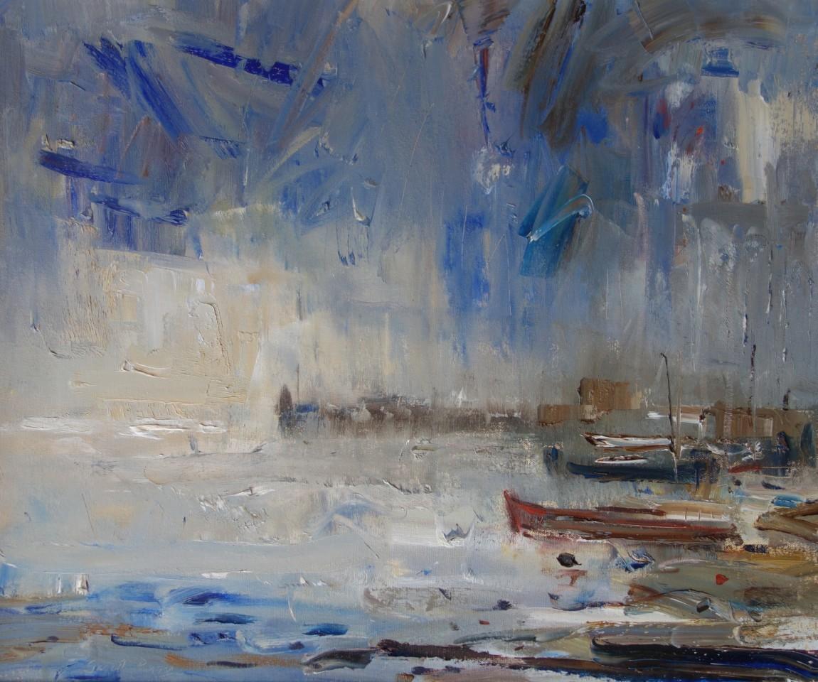 Gareth Parry, Little Harbour - Summer Rain