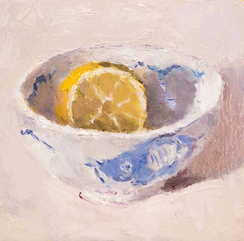 Lynne Cartlidge, Lemon Half in a Chinese Bowl I