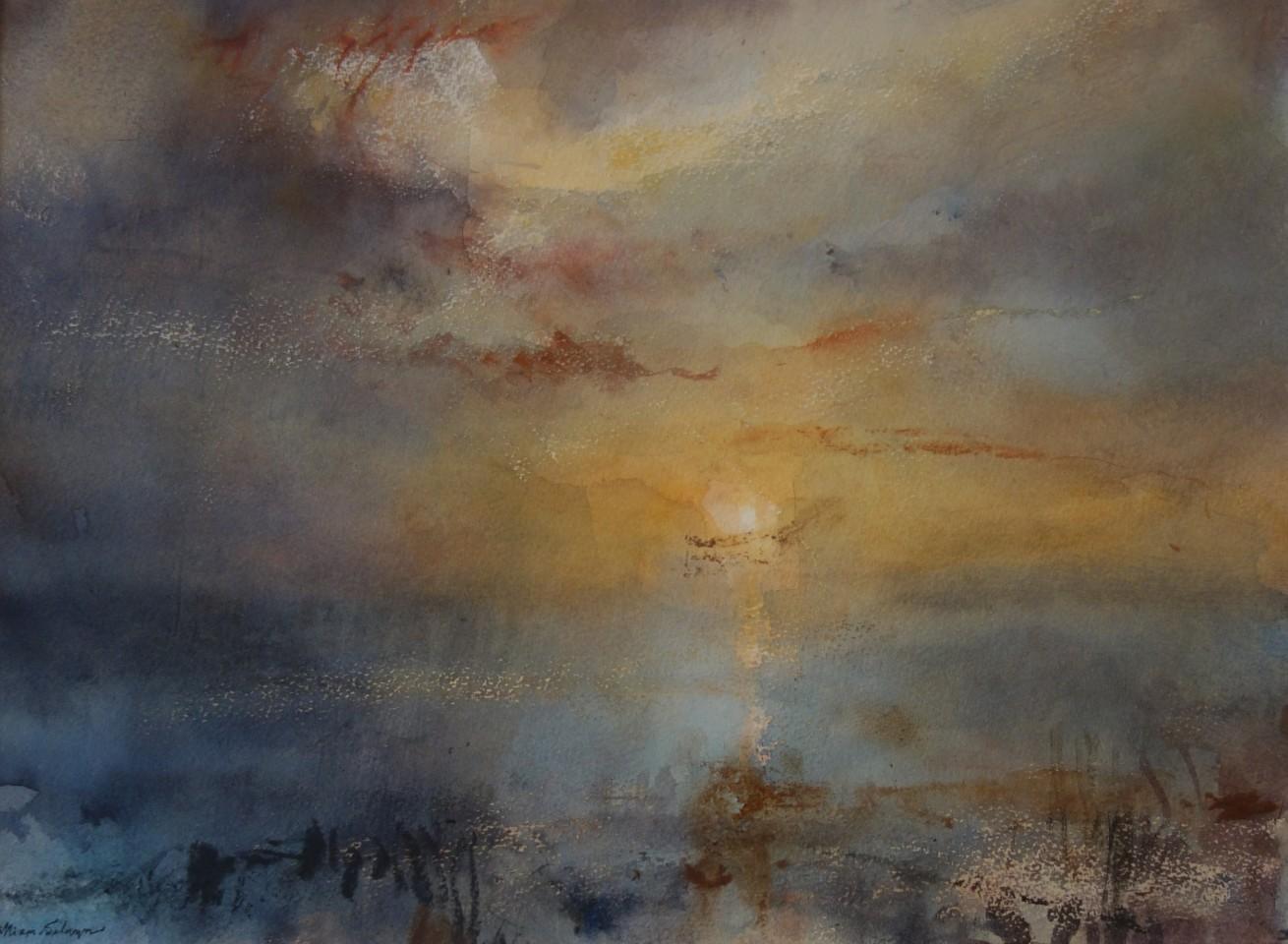 William Selwyn, Sunset Across the Straits