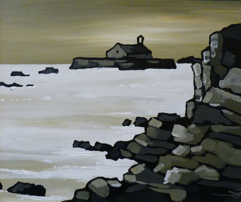 Stephen John Owen, Evening Light, Porth Cwyfan