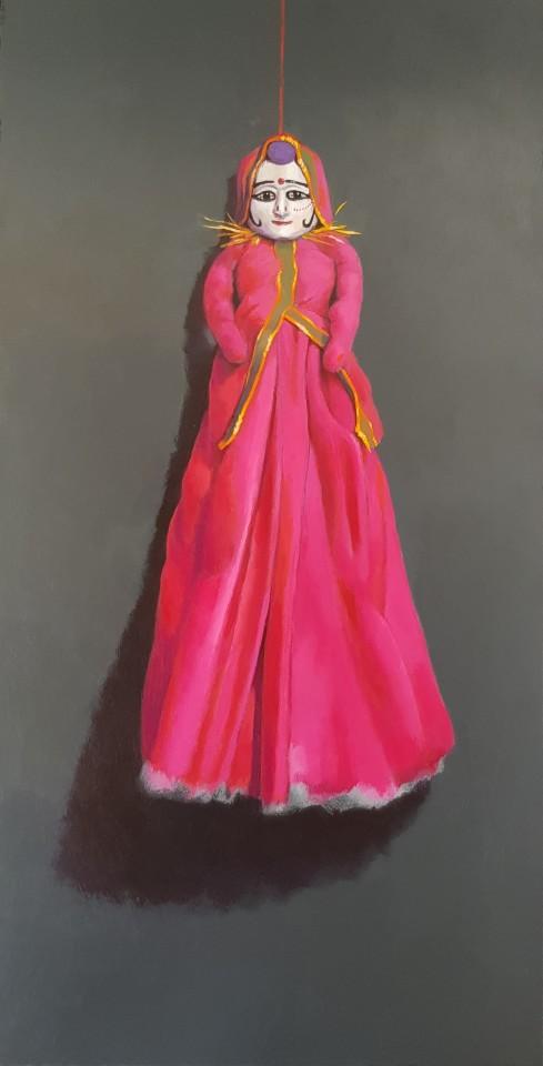James Guy Eccleston, Rajasthan Silk Puppet